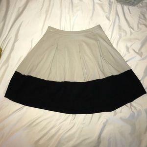 Express a line color block skirt size 2